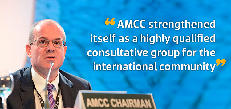 AMCC strengthened itself as a highly qualified consultative group for the international community